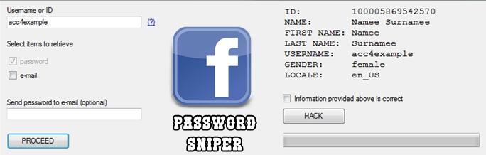 Facebook password sniper – trẻ trâu mới tin  - Điện thoại và
