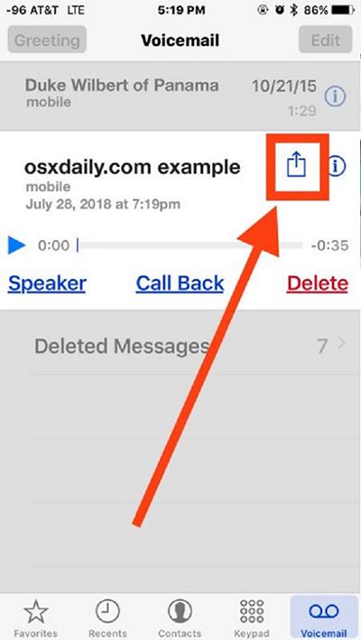 Hướng dẫn cách ghi âm cuộc gọi trên iPhone bằng Voicemail (2)