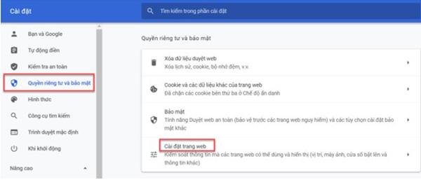 Cách tắt thông báo trên Google Chrome