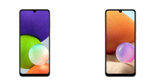 So sánh Galaxy A22 và A32
