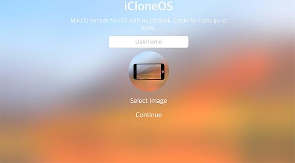Giả lập ứng dụng Android iClone OS trên iOS với các thiết bị iPhone/iPad