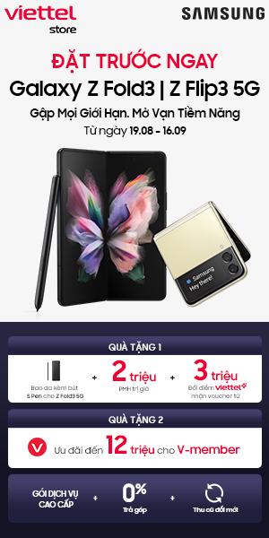 Mua Galaxy Z Fold3 5G tại Viettel Ste
